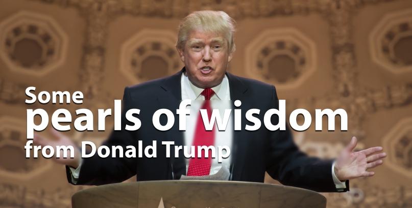 Property tycoon Donald Trump