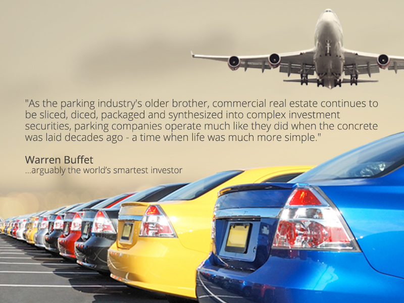 irport parking investment - high-yields