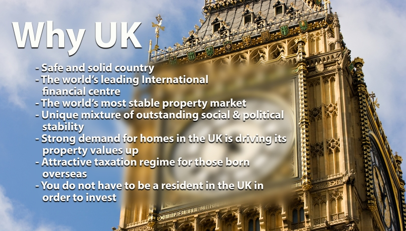 UK real estate investments